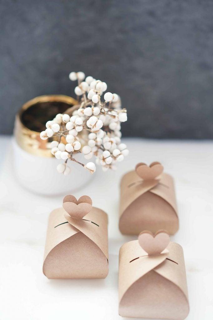 DIY Gift Favor Box