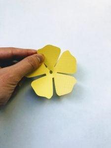 paper hibiscus template
