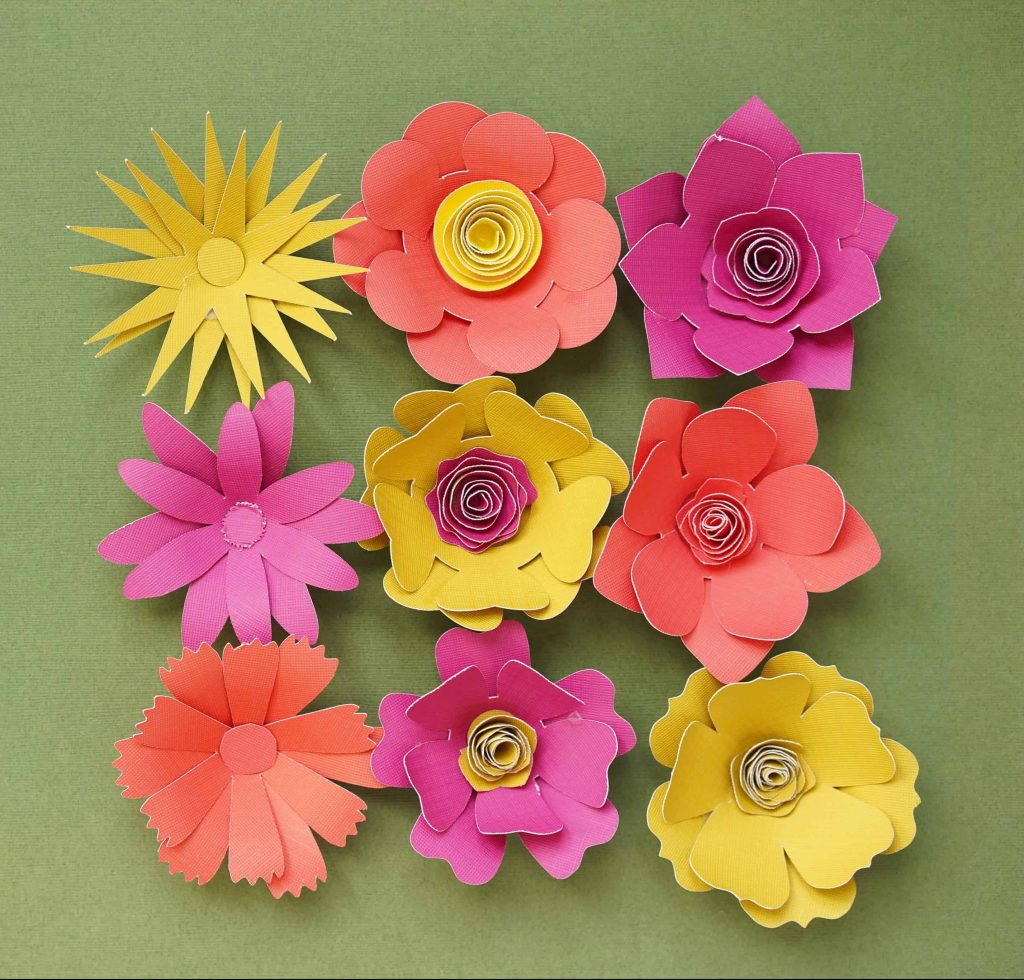 Rolled 3D Paper Flower