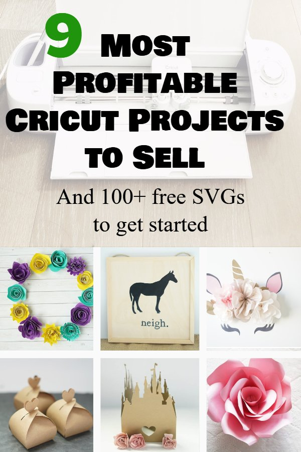 most profitable cricut projects to sell
