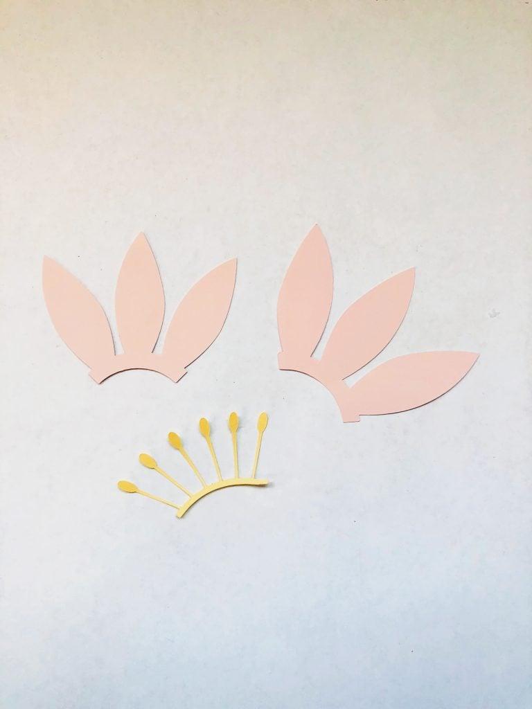 cricut paper flower template