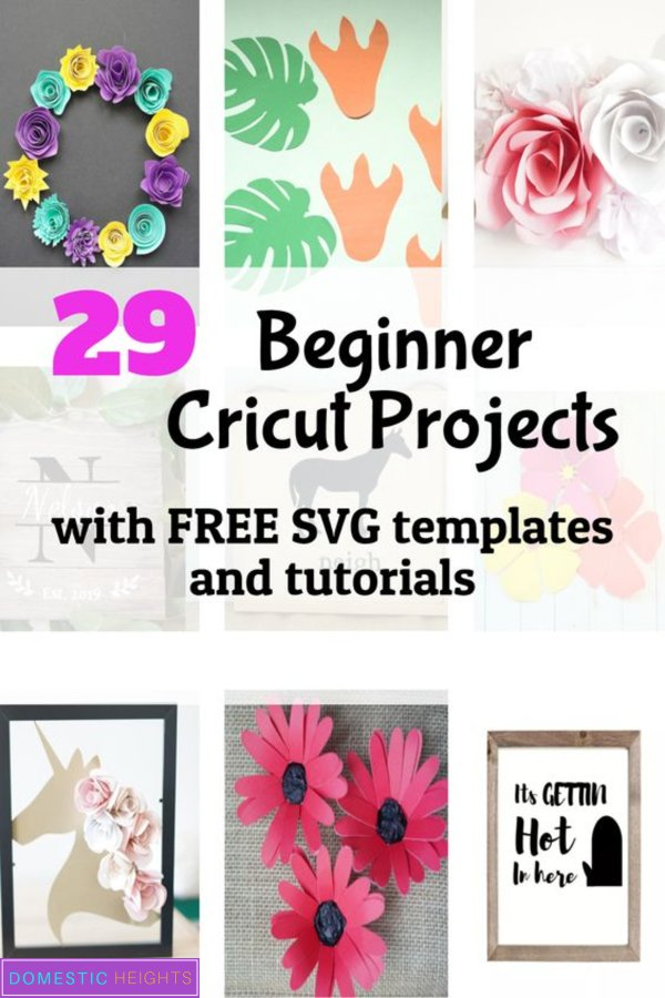 cricut beginners tutorial with free svg cut file timplates