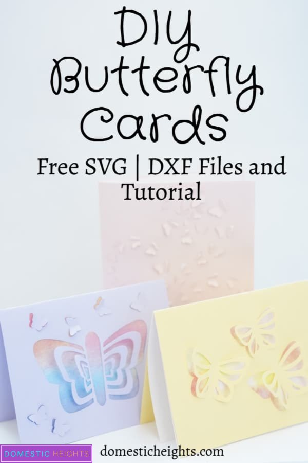 cricut butterfly card tutorial with free svg cut file template