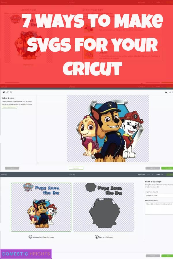 cricut how to make svg files