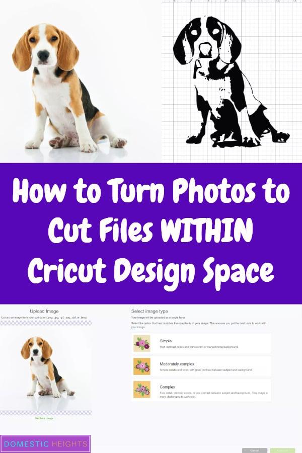 photo to cut file cricut