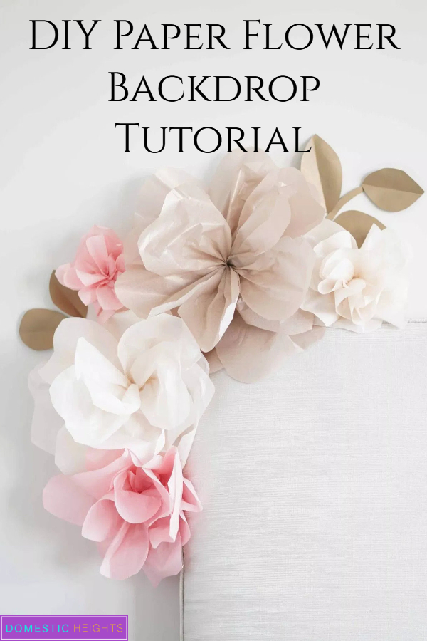 how to make paper flowers for nursery, paper flower wall decor bedroom, all decoration with paper flowers by step by step how to attach paper flowers to wall