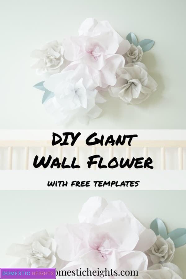 giant wall tissue paper flower