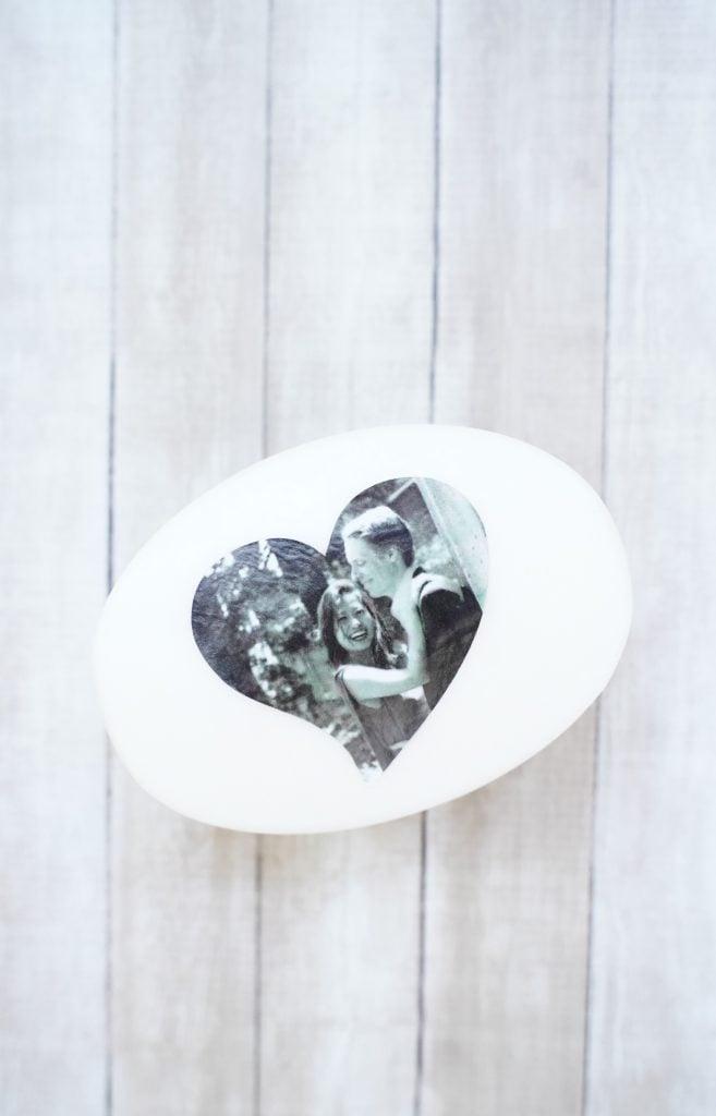 diy wedding gift craft idea, mod podge project craft, easy handmade gift, decoupage soap