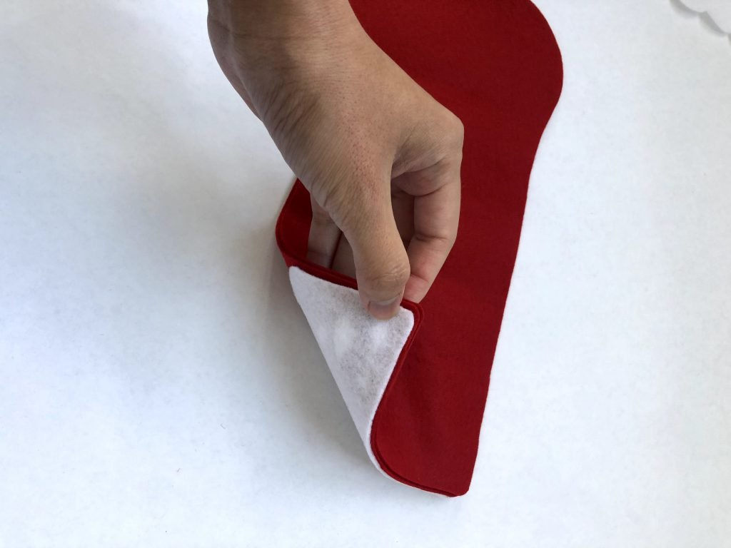 diy christmas stocking pattern with cuff