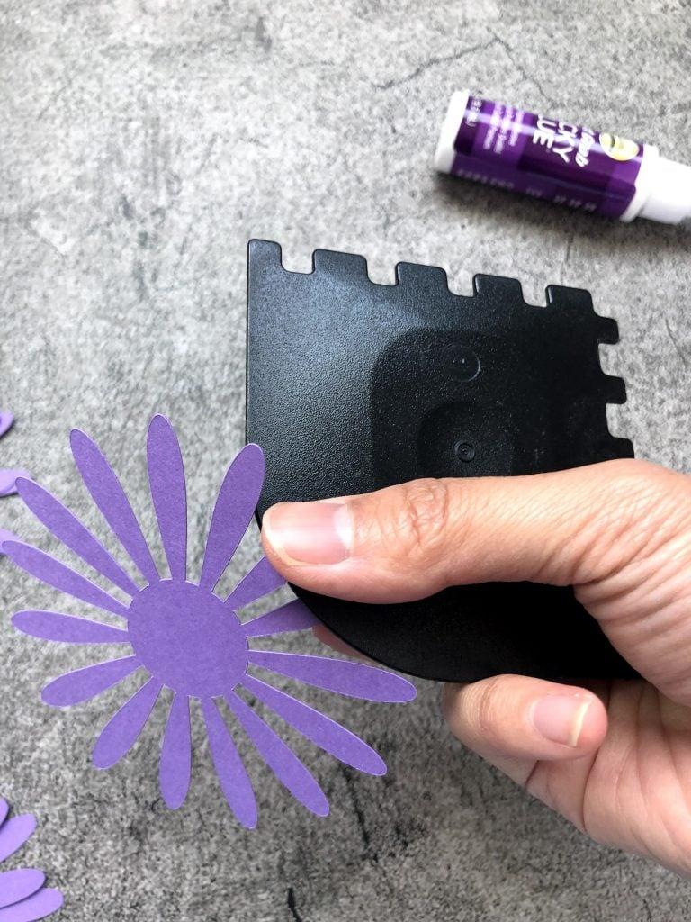 DIY Paper Flower template, free svg