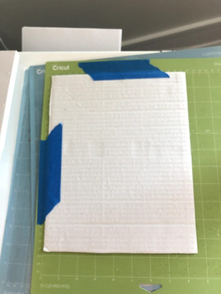 how to cut cardboard with the cricut