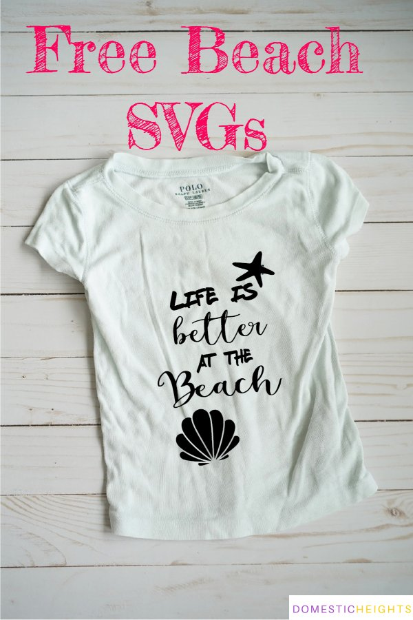 life is better at the beach svg free