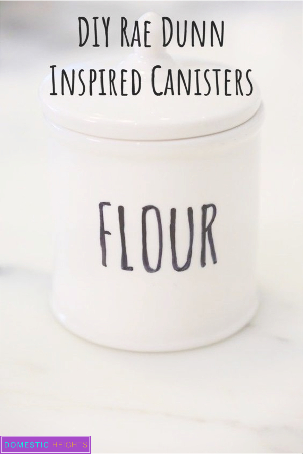 Rae Dunn DIY, Canisters projects, plates and bowls sharpie ideas