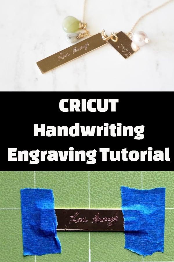 cricut engraving