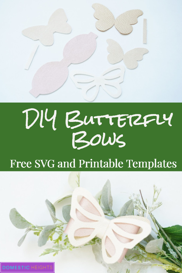 DIY butterfly bows