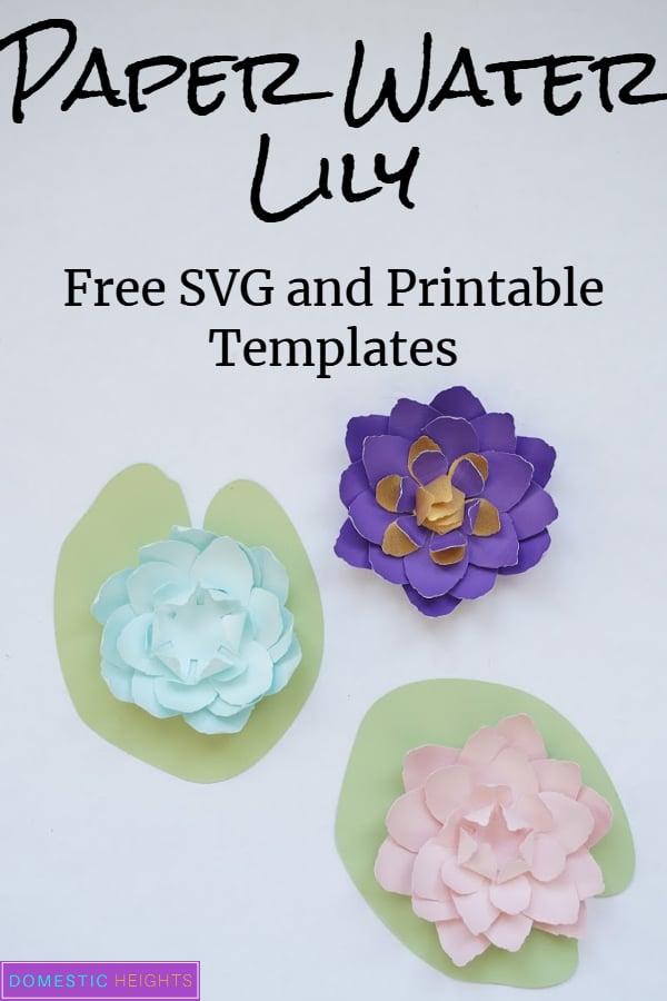 Easy Cricut Paper Flower
