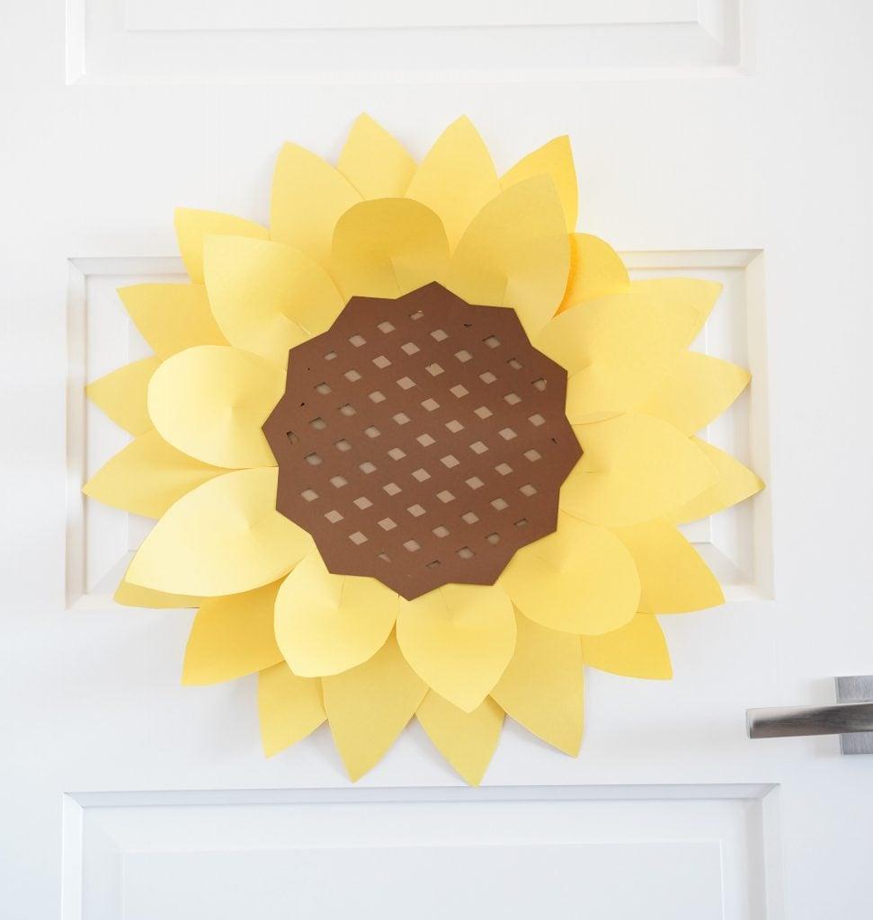 easy paper flower template