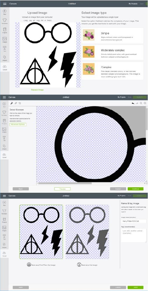 how to create svg files for cricut