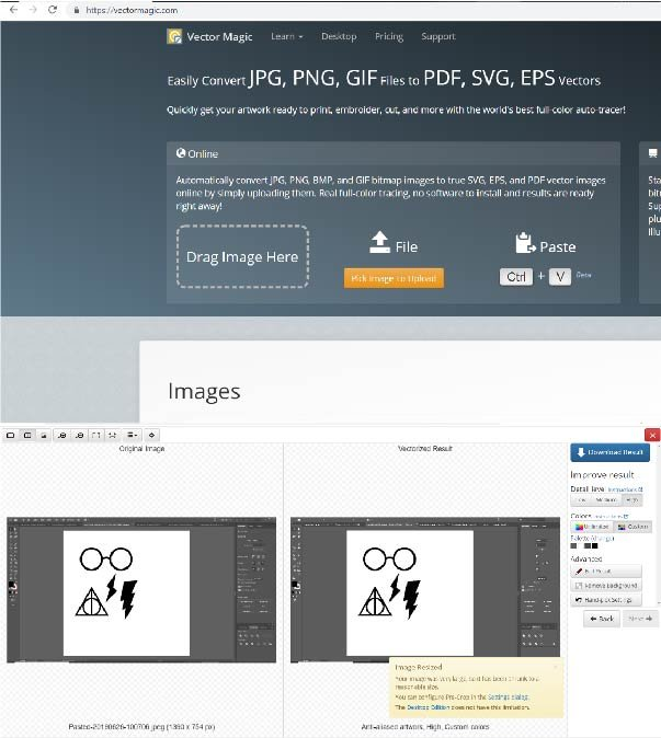 how to make svg files