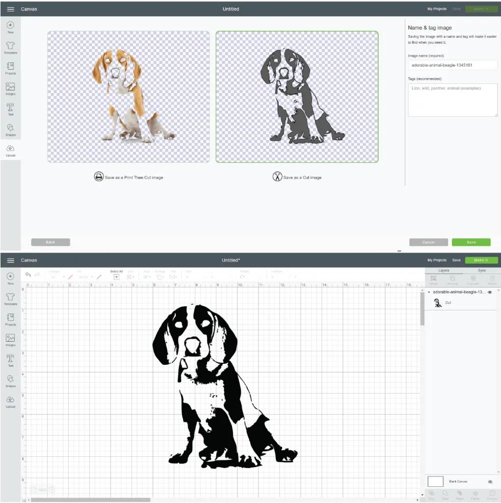 how to turn a picture into a svg for cricut