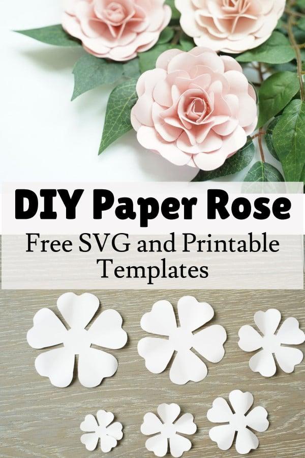 paper rose flower tutorial