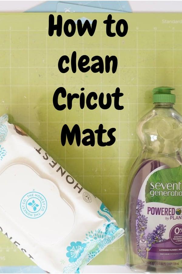 Cricut mat cleaning ideas