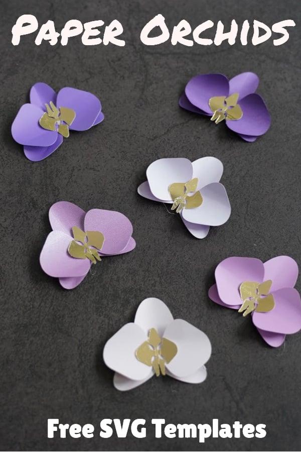 paper orchid DIY