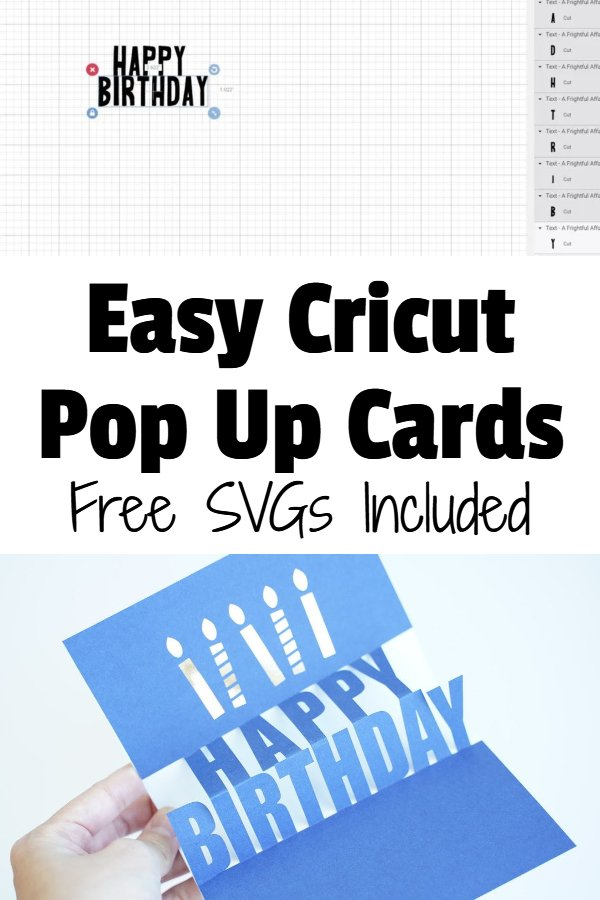 Cricut Pop up cards SVG