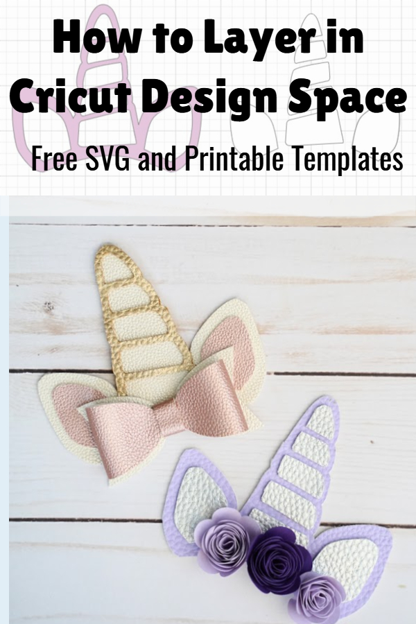 how to layer in Cricut Design Space