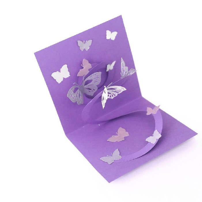 Butterfly popup card