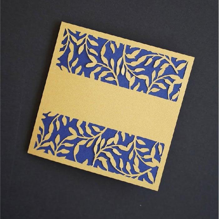 Foliage band card
