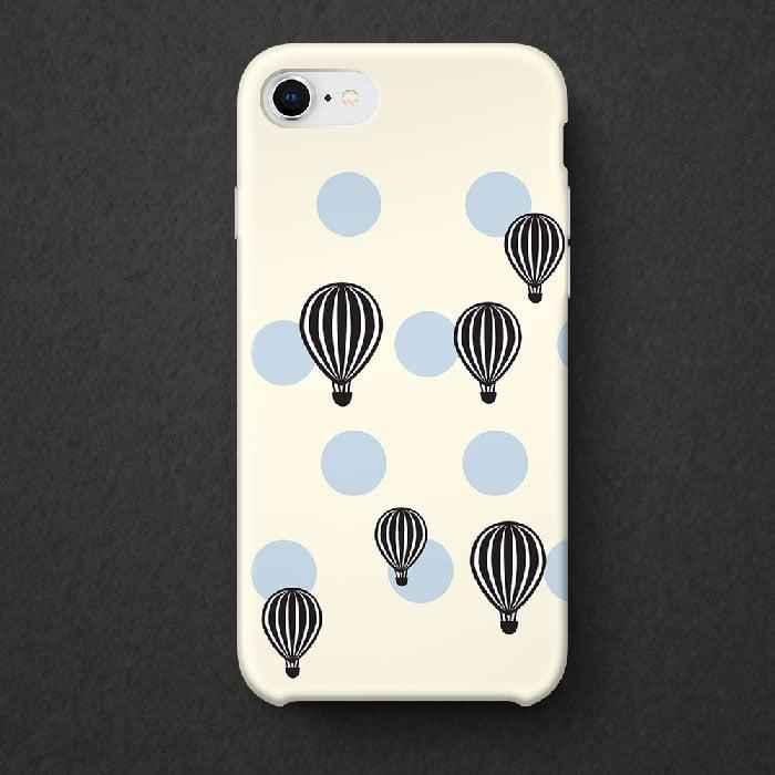 Hot air balloon phone decal