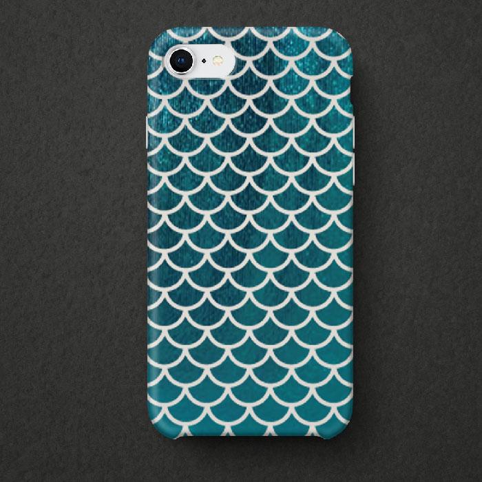 Mermaid scales phone decal