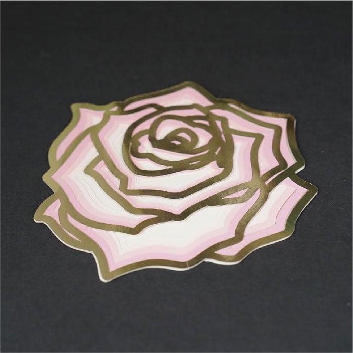 Rose 3d mandala