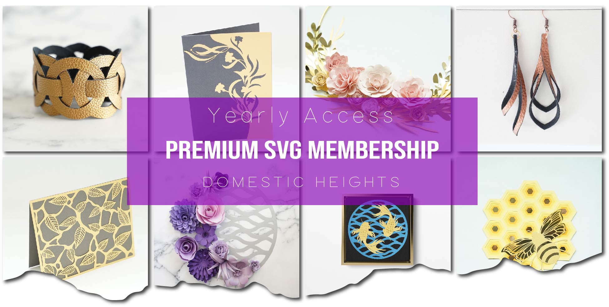SVG Membership Header collage