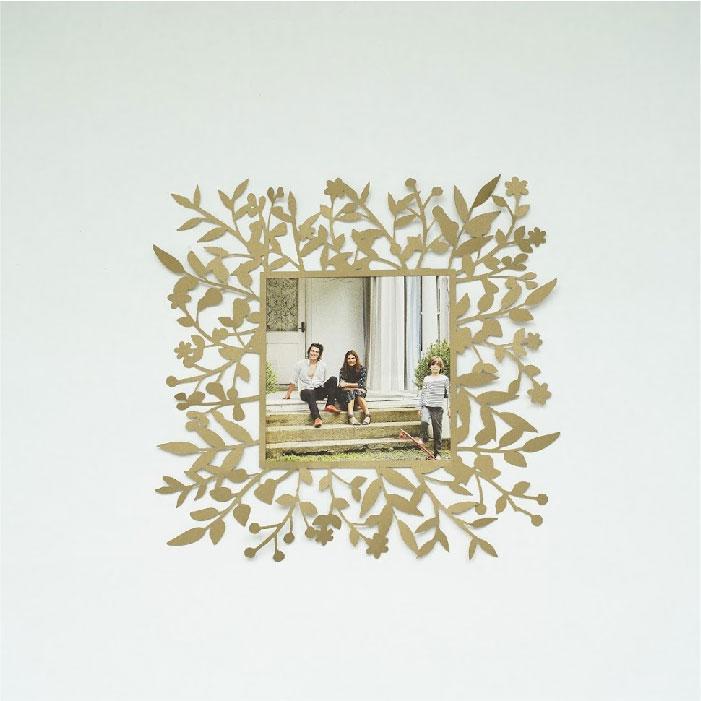 Wild foliage frame square