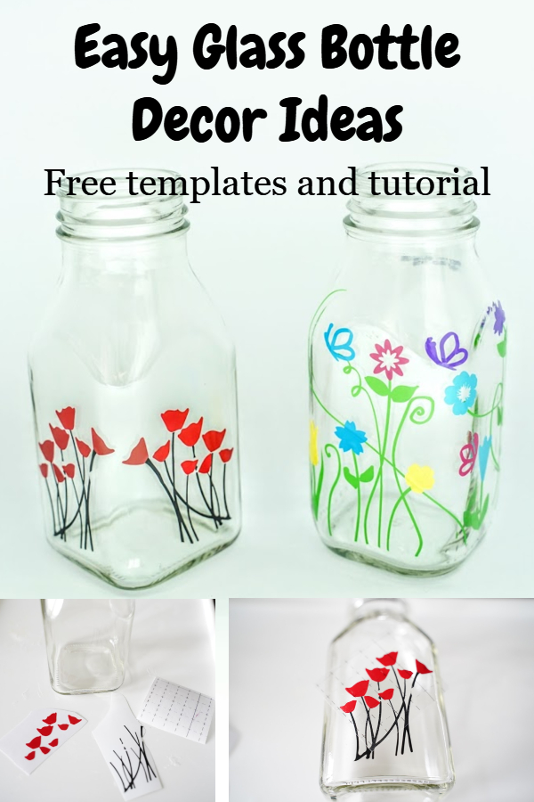 glass bottle decor ideas