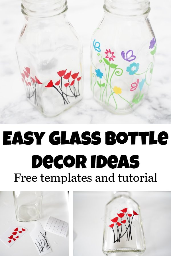glass bottle art ideas