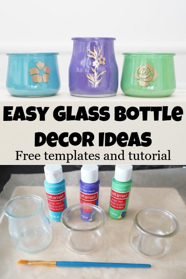 simple bottle decoration