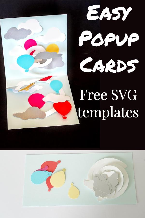 pop up card templates for cricut
