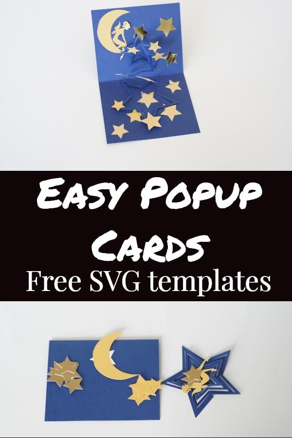 cricut pop up card templates