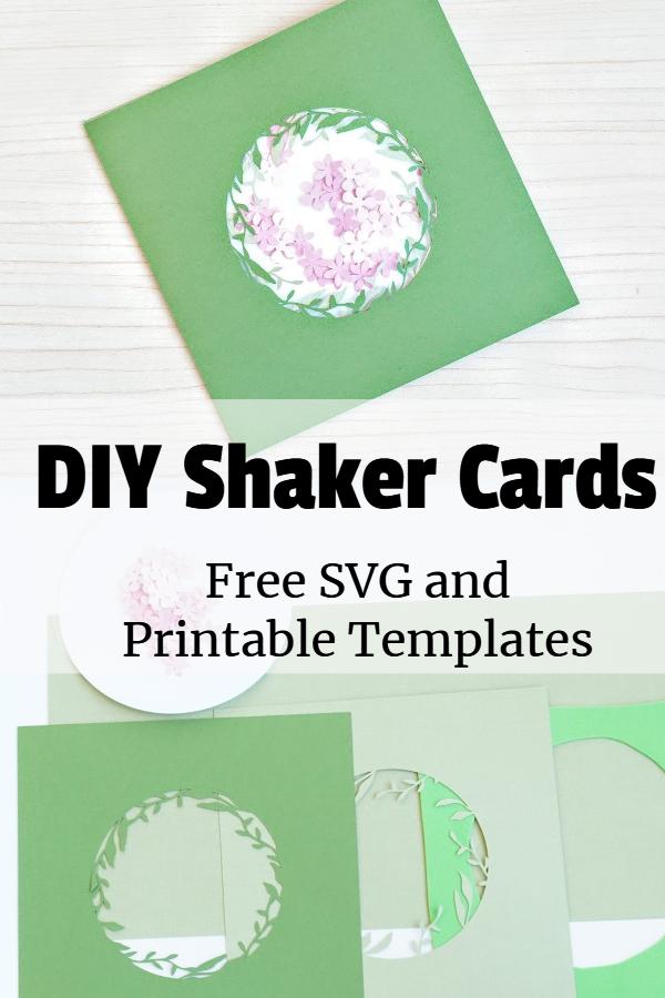 shaker cards tutorial