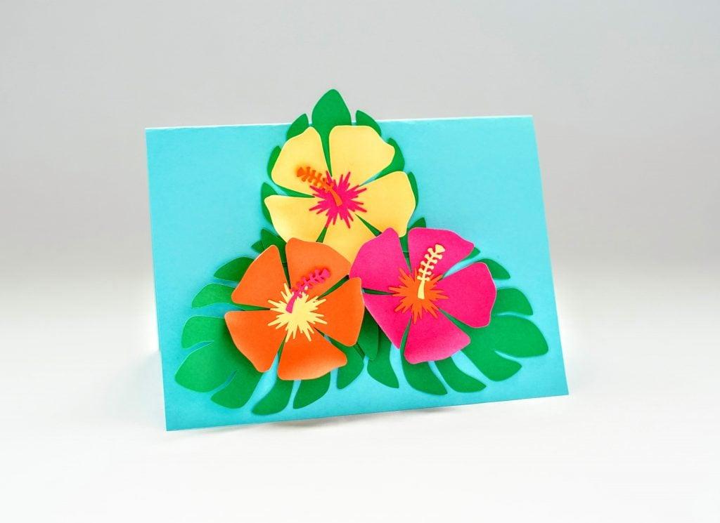 hawaiian flower svg