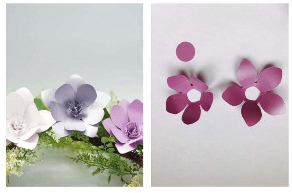 simple paper flower templates