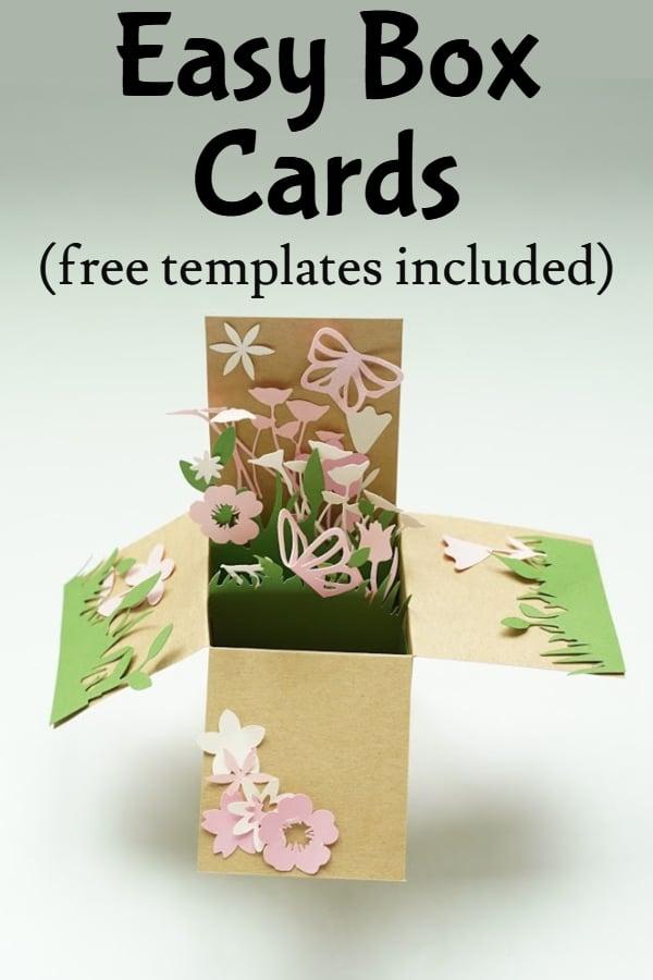easy box card ideas