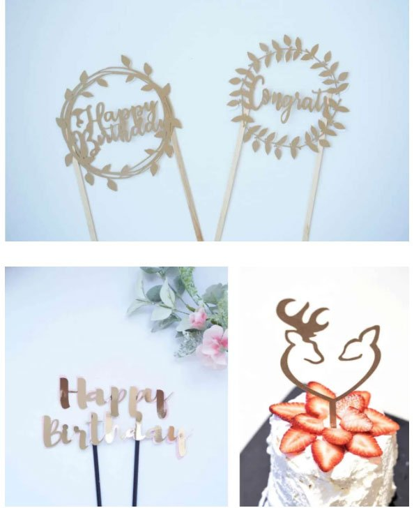 cricut cake toppers