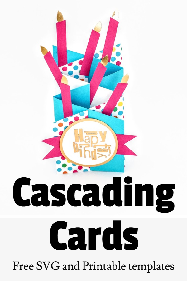 cascading card making