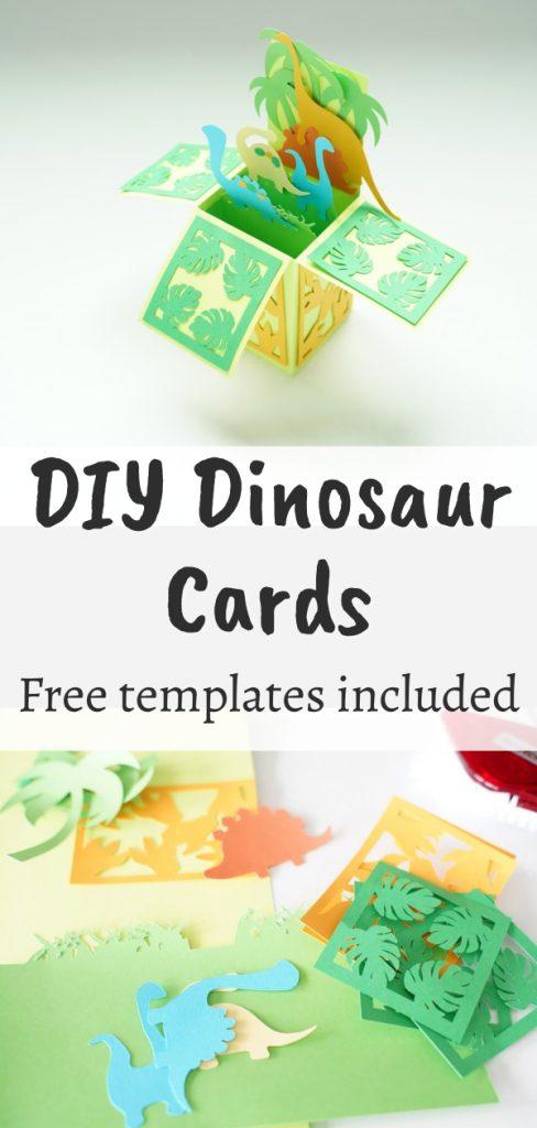 Dinosaur paper crafts