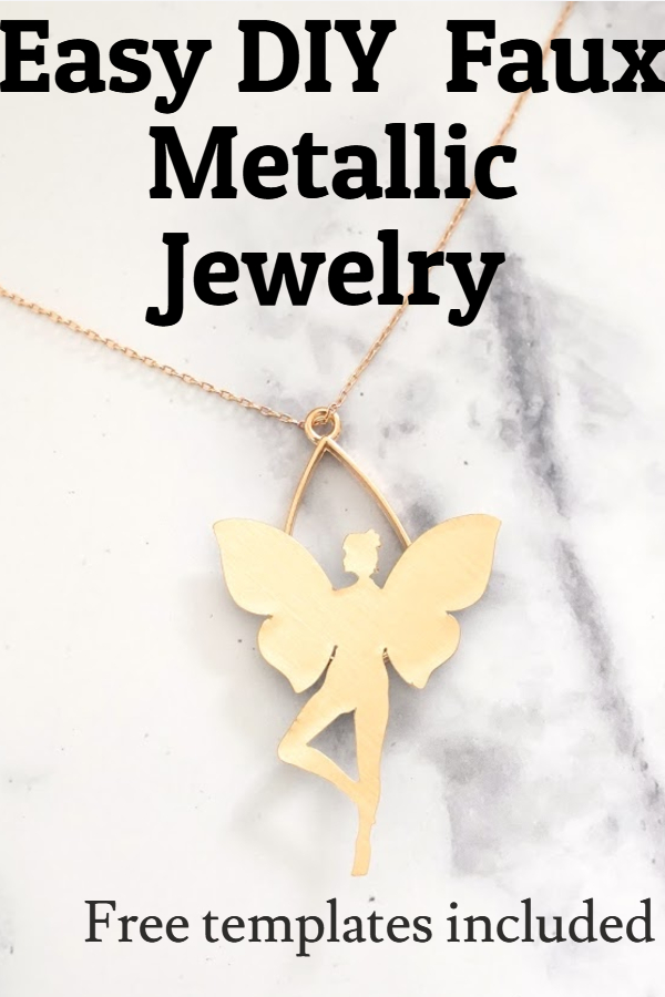 necklace pendant and earring template