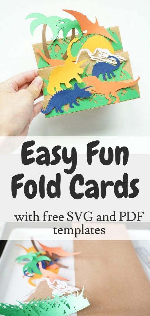 easy fun fold cards